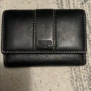Billfold coach wallet